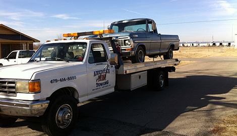 Towing Service | American Towing | Fort Smith, AR | (479) 646-8895